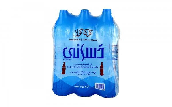 آب آشامیدنی دسانی کوکاکولا مقدار 1.5 لیتر